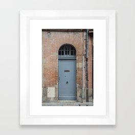 Door number thirty Framed Art Print