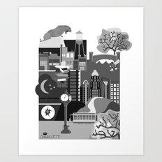 Charlotte Art Print