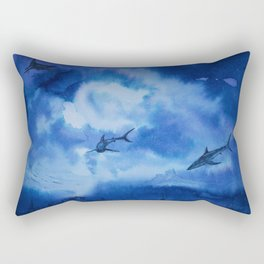 Ink sharks Rectangular Pillow