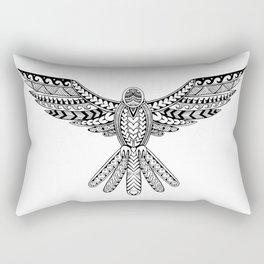 Dove Tribal Tattoo Rectangular Pillow
