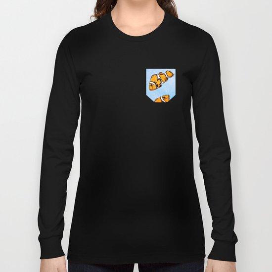 Clownfish Pattern Long Sleeve T-shirt