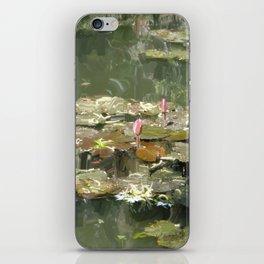 Lotus Pond 2 iPhone Skin
