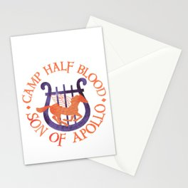 son of apollo Stationery Cards