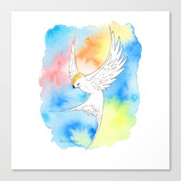 Shatter Me Bird in Flight Canvas Print