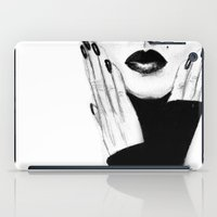 grace iPad Cases featuring Grace by Lauren Draghetti