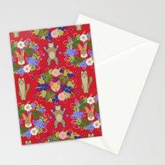 Khokhloma Forest Animals Stationery Cards