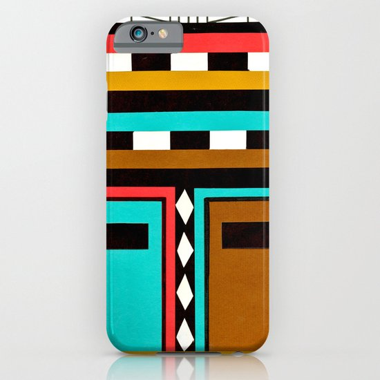 Tribe Mask iPhone & iPod Case