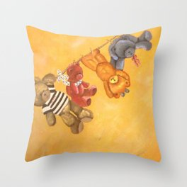 It's Washing Day Throw Pillow