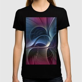 Fractal Mysterious, Colorful Abstract Art T-shirt
