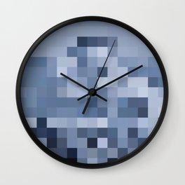 El Gato the Pixel Glacier Wall Clock
