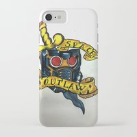 starlord iPhone & iPod Cases featuring Space outlaw by Jeksra