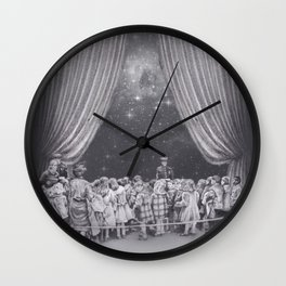In which flash photography is discouraged Wall Clock