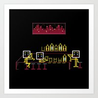 bar Art Prints featuring Bar by Ornaart