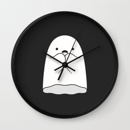 The Horror / Scared Ghost Wall Clock