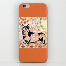 Corgi pop art iPhone & iPod Skin