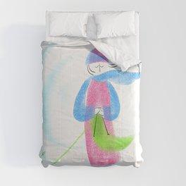 Spring Knitter Comforters