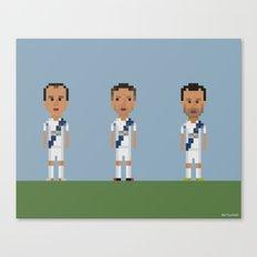 Los Angeles Galaxy trio Canvas Print