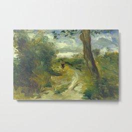 Landscape Between Storms Oil Painting by Auguste Renoir Metal Print