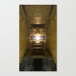 Alien Alley Canvas Print