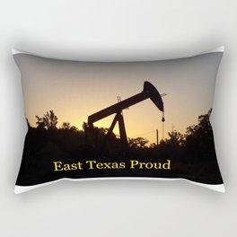 East Texas Proud Rectangular Pillow
