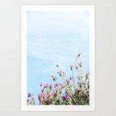 printemps in pink Art Print