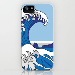 Great Wave of Humboldt - Daytime iPhone Case