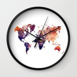 World map Wall Clock