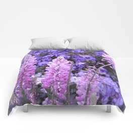 Lively Lupines Comforters