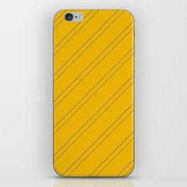 Selective Yellow Crisscross iPhone Skin