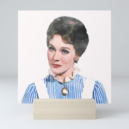 Mary Poppins - Watercolor #1 Mini Art Print