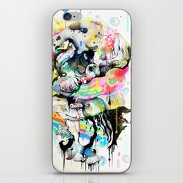 Ink Fight Colors iPhone Skin