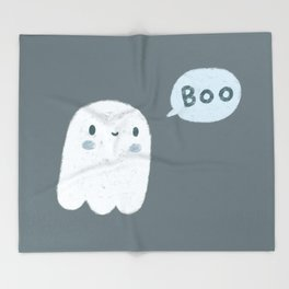 Scary Ghost Throw Blanket