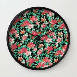 Kauai Print Wall Clock