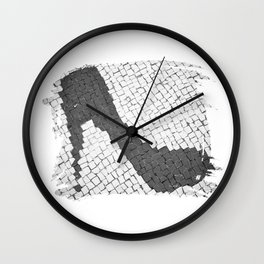 Rock in my shoe Wall Clock