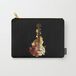 Watercolor Guitar Guitar Watercolor Design Carry-All Pouch