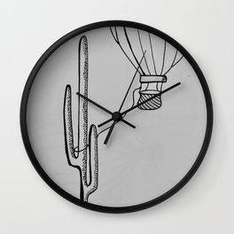Lassoed Wall Clock
