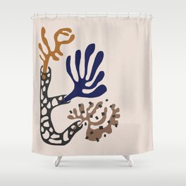 Plant Composition II Shower Curtain