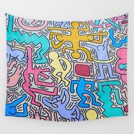 KEITH HARING Wall Tapestry