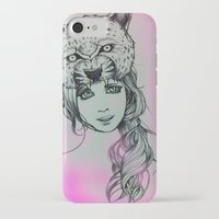 girly iPhone & iPod Cases featuring Girly by alexxela