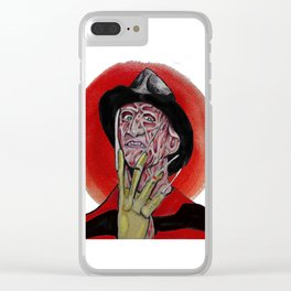 Oh Freddy your so fine!! Clear iPhone Case