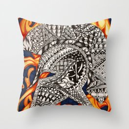 This is Sparta Throw Pillow