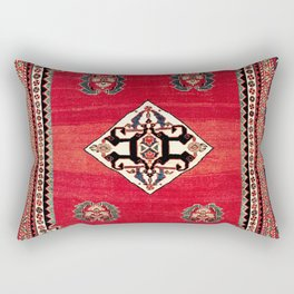 Qashqa'i Kashkuli Fars Southwest Persian Rug Print Rectangular Pillow