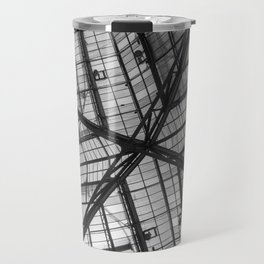 Liverpool Street Station Glass Ceiling Abstract Travel Mug