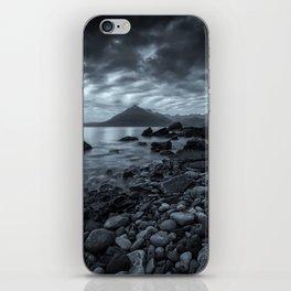 The Dark Cuillin iPhone Skin