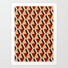 Retrospect, Triangle Duo, No. 06 Art Print