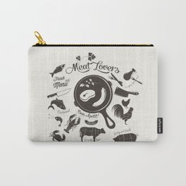 Meat Lovers Carry-All Pouch