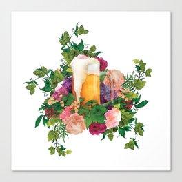 Beer Bouquet Canvas Print