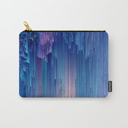 Fairy Glitches - Abstract Pixel Art Carry-All Pouch