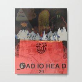 Radiohead 20 Metal Print