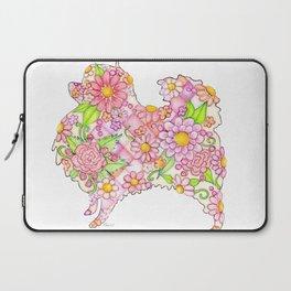 Pink Pomeranian Laptop Sleeve